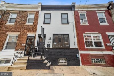 Point Breeze Townhouse For Sale: 1515 S Ringgold Street