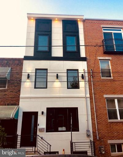 Point Breeze Townhouse For Sale: 1813 Manton Street
