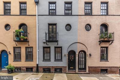 Rittenhouse Square Townhouse For Sale: 116 S Van Pelt Street
