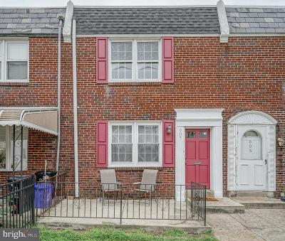 Roxborough Townhouse For Sale: 607 Dupont Street