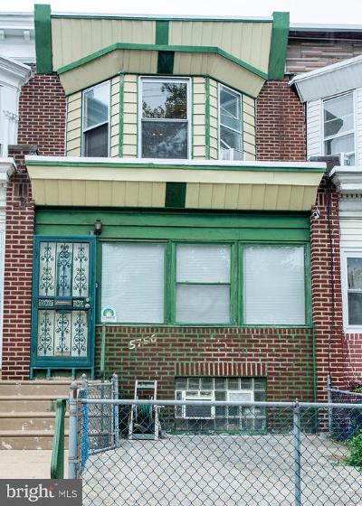Philadelphia Townhouse For Sale: 5756 N 6th Street