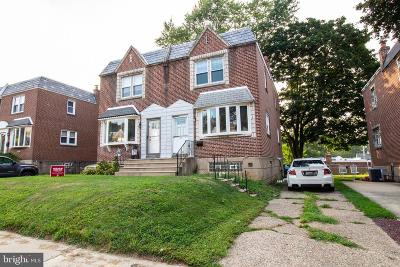 Philadelphia Single Family Home For Sale: 7634 Burholme Avenue