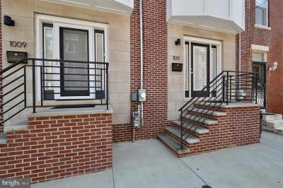 Queen Village Townhouse For Sale: 1011 S Randolph Street