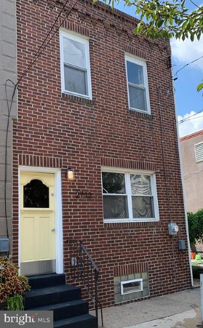 Fishtown Townhouse For Sale: 2712 E Albert Street