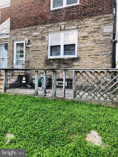Philadelphia County Single Family Home For Sale: 6434 Dorcas Street