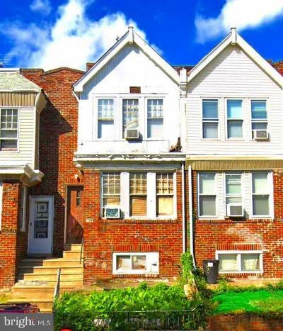 Philadelphia County Townhouse For Sale: 4632 G Street