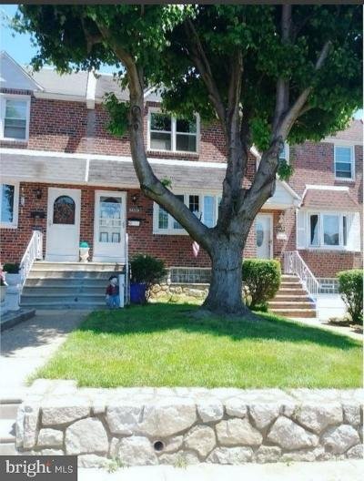 Philadelphia County Townhouse For Sale: 4407 Pennypack Street