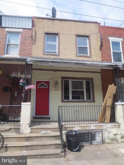 Philadelphia County Townhouse For Sale: 1916 S Croskey Street