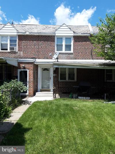Philadelphia County Townhouse For Sale: 7515 Brentwood Road