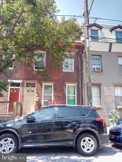 Philadelphia Townhouse For Sale: 1252 S 31st Street