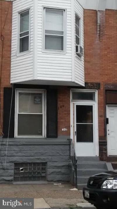 Philadelphia Townhouse For Sale: 3142 Jasper Street