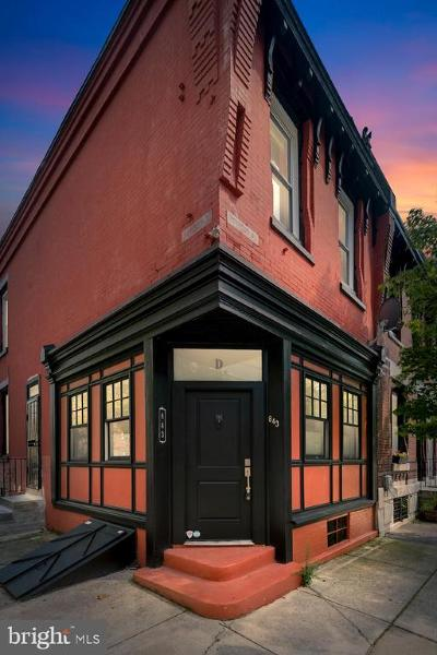 Art Museum Area Townhouse For Sale: 843 N Beechwood Street