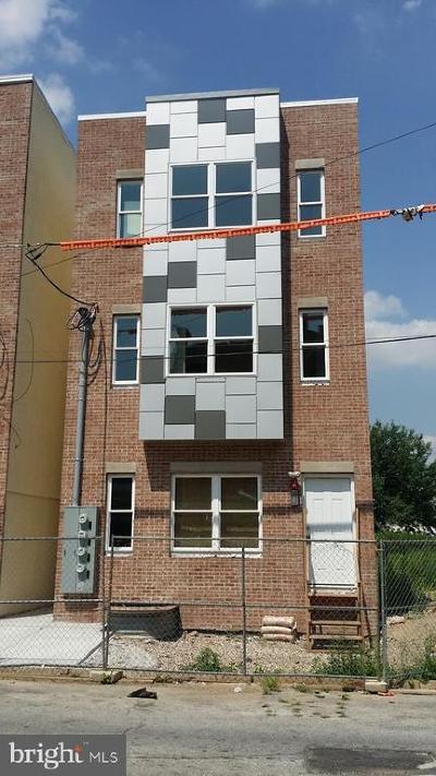 Philadelphia Multi Family Home For Sale: 1544 N Willington Street