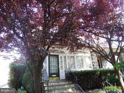 Roxborough Single Family Home For Sale: 620 Rector Street