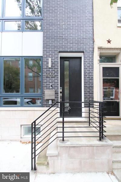 Philadelphia Townhouse For Sale: 2022 Poplar Street