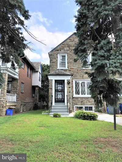 Philadelphia Single Family Home For Sale: 2464 77th Avenue