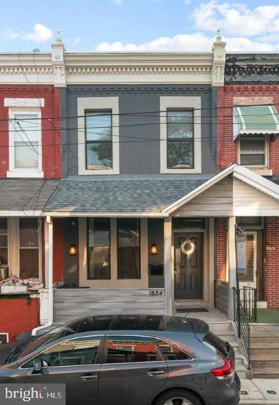 Brewerytown Townhouse For Sale: 1534 N Natrona Street