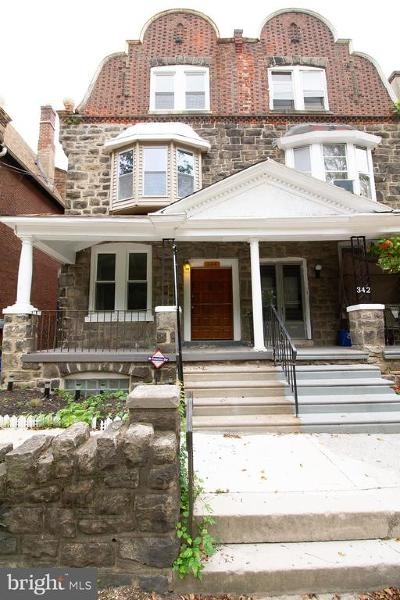 Philadelphia Single Family Home For Sale: 344 E Church Lane