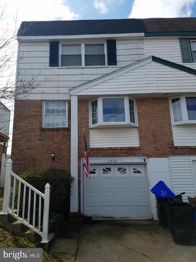 Philadelphia Single Family Home For Sale: 3822 Patrician Drive