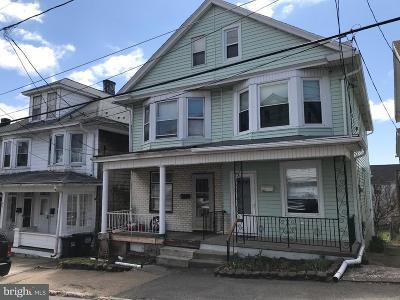 Single Family Home For Sale: 208 Schuylkill Avenue