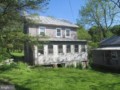 Single Family Home For Sale: 1175 Mountain Road