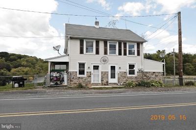 Single Family Home For Sale: 977-979 Deturksville Road