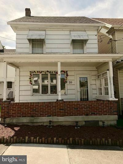 Single Family Home For Sale: 20 W Phillips Street