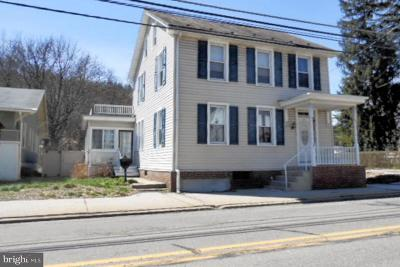 Single Family Home For Sale: 35 N Tulpehocken Street