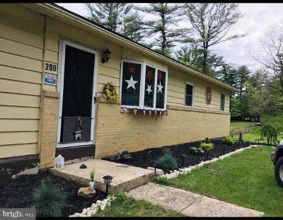 Single Family Home For Sale: 200 N State Road