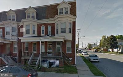 York PA Single Family Home For Sale: $79,995
