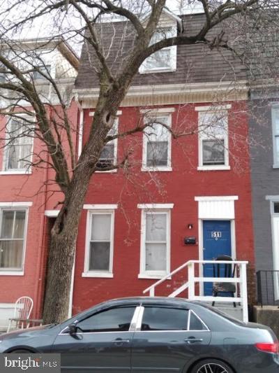 York Townhouse For Sale: 511 S Duke Street