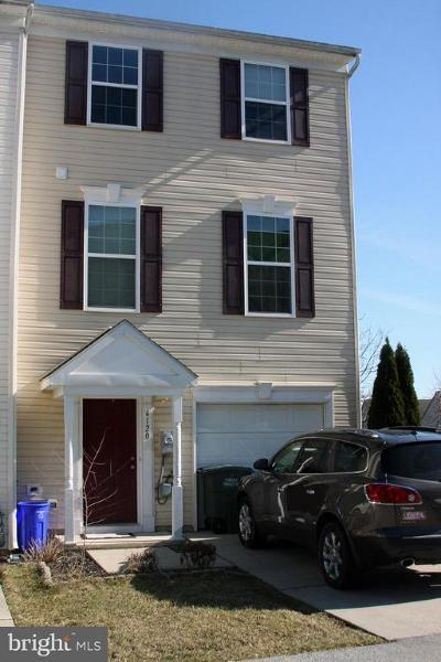 Dover Townhouse For Sale: 4120 Trabert Court