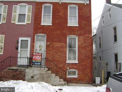 York PA Single Family Home For Sale: $39,000