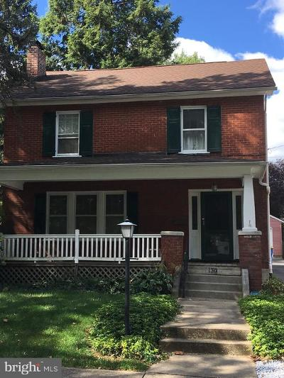 York Single Family Home For Sale: 130 N Findlay Street