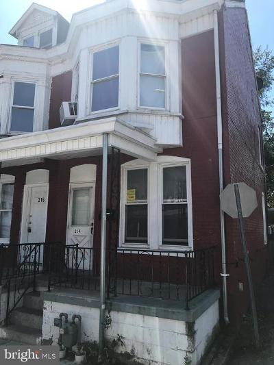 York Single Family Home For Sale: 214 West Street