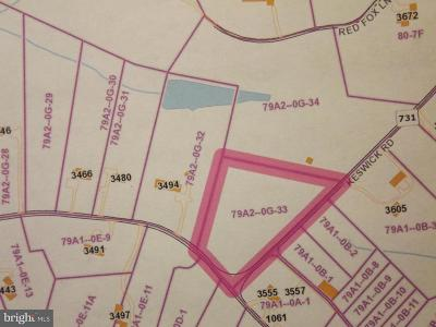 Albemarle County Residential Lots & Land For Sale: 00 Keswick Road