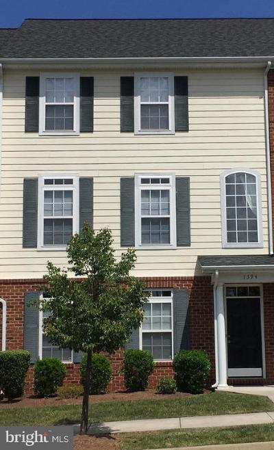 Albemarle County Townhouse For Sale: 1394 Timberwood Boulevard