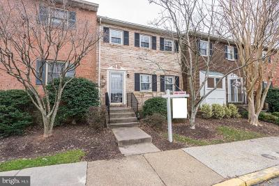 Arlington Townhouse For Sale: 1814 N George Mason Drive