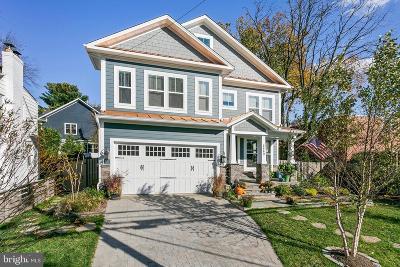 Alexandria City, Arlington County Single Family Home For Sale: 2449 N Lexington Street