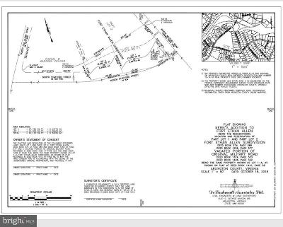 Arlington Residential Lots & Land For Sale: 3812 Military Road