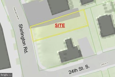Arlington Residential Lots & Land For Sale: 2323 Shirlington Road
