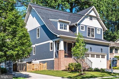 Alexandria City, Arlington County Single Family Home For Sale: 2226 N Kensington Street