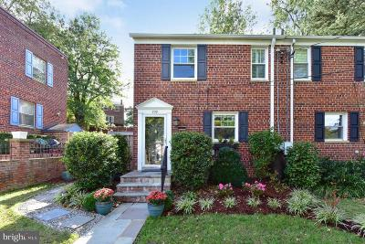 Alexandria Townhouse For Sale: 238 Burgess Avenue