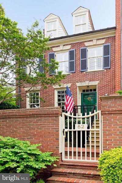 Alexandria City, Arlington County Condo For Sale: 52 Wolfe Street