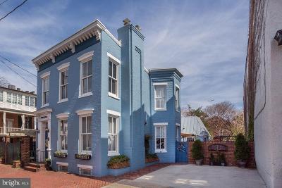 Alexandria City, Arlington County Single Family Home For Sale: 221 N St Asaph Street