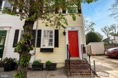 Alexandria Townhouse For Sale: 507 N Patrick Street