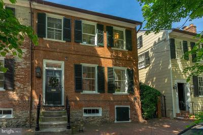 Alexandria City, Arlington County Townhouse For Sale: 210 N Fairfax Street
