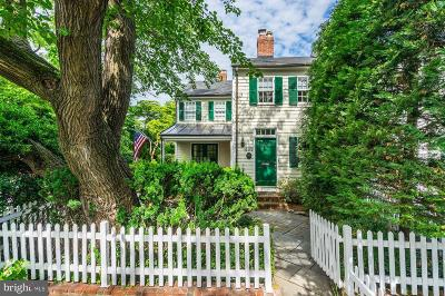 Old Town Townhouse For Sale: 639 S Saint Asaph Street