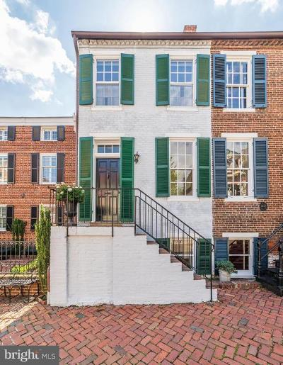 Alexandria City Townhouse For Sale: 208 S Lee Street