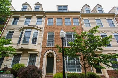 Cameron Station Townhouse For Sale: 5186 Brawner Place